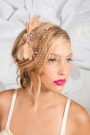 how to make a bridal headpiece and - Google Search