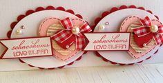 SALE Sweet Valentine's Day Embellishments by KindrasCreations