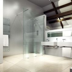 Merlyn Series 8 Shower Panel - 800mm