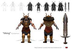 Tyrndamere_Viking by The-Bravo-Ray