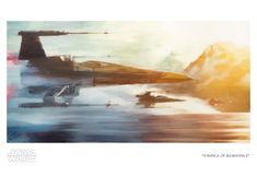 X-Wings of Resistance Giclee by ACME Archives   Sideshow Fine Art Prints X Wing, Star Wars Prints, Star Wars Art, Clark Art, Academic Art, Traditional Paintings, Canvas Artwork, Art Techniques, Cool Art