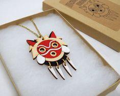 Mononoke Maske Halskette
