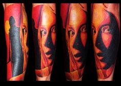 haha found my boyfriends arm on Pinterest! Tattoo by Danny Fugate @ Ambition Tattoo Knoxville TN - Caitlin Huddleston