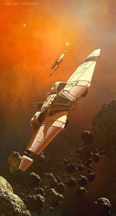 Raider by GrahamTG on DeviantArtYou can find Science fiction art and more on our website.Raider by GrahamTG on DeviantArt Spaceship Art, Spaceship Design, Arte Sci Fi, Sci Fi Art, Star Citizen, Stargate, Concept Ships, Concept Art, Kampfstern Galactica