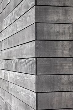 Detail joint - Mountain Landing Lodge : Cheshire Architects