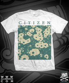 Check out the deal on CIT NEW FLOWER TEE ON WHITE at All In Merchandise
