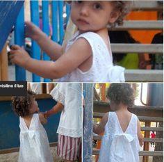 Abito in pizzo sangallo e blusa Babe & Tess.. romantici e dolcissimi look bimba -40% su www.cocochic.it http://www.cocochic.it/…/b…/549-abito-in-pizzo-sangallo.html http://www.cocochic.it/…/bamb…/758-blouse-poncho-bianca.html