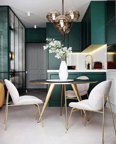 36 Stunning Home Interior Design - 2020 Home design Boho Living Room, Small Living Rooms, Living Room Decor, Cozy Living, Green Living Rooms, Bedroom Small, Decor Room, Cottage Living, Room Art