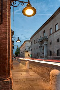 Ancient street - This is 'Corso Ercole I d'Este', one of the most beautiful street in Ferrara. The first palace on the right it's called Prosperi-Sacrati and the next one is the Diamond's Palace. Hope you like it!