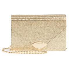 Women's Michael Kors Medium Barbara Metallic Envelope Clutch ($198) ❤ liked on Polyvore featuring bags, handbags, clutches, gold, metallic clutches, evening handbags, purse clutches, vintage clutches and gold box clutch