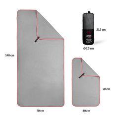 Premium Mikrofaser Handtücher im Doppelpack mit praktischer Tragetasche Outdoor Reisen, Small Luggage, Gadgets, Space Saving, Tote Bag, Gadget