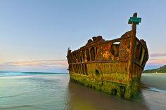 海外旅行世界遺産 朽ちた船 フレーザー島の絶景写真画像ランキング オーストラリア