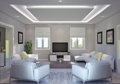 30 Unusual Ceiling Designs Ideas For Living Rooms. Awesome 30 Unusual Ceiling Designs Ideas For Living Rooms. If your ceilings are low, it can make a room look smaller and more closed in. Plaster Ceiling Design, Gypsum Ceiling Design, House Ceiling Design, Ceiling Design Living Room, Bedroom False Ceiling Design, False Ceiling Living Room, Ceiling Light Design, Home Ceiling, Ceiling Decor