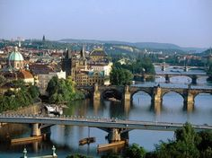 Train Travel Between Prague, Czech Republic & Poland Lonely Planet, Places To Travel, Places To Visit, Travel Through Europe, Europe Holidays, Prague Travel, Prague Czech Republic, European Tour, Dream City