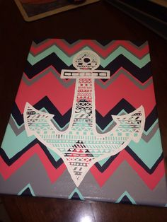 Delta gamma anchor canvas