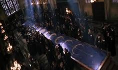 Dueling Club in the great hall