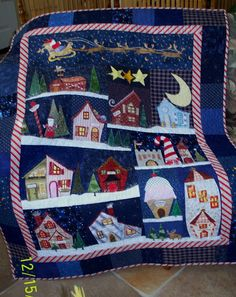 Made by Me in Red: North Pole Quilt