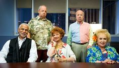 """It's an embarrassment of veteran TV actor riches! Marion Ross, Tim Conway, Paul Dooley, Doris Roberts and Ron Glass guest-starred in this episode of """"Major Crimes,"""" which finds all of them living in a rundown apartment complex. And their landlord just committed suicide. Or … did he … ?"""