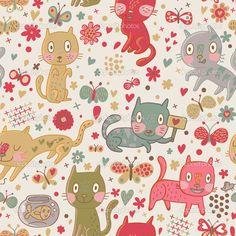 gatos animados wallpaper - Buscar con Google