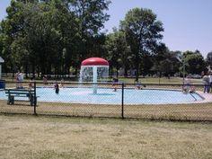 Mushroom Pool - Payne Park, North Tonawanda, NY