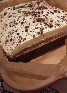 Chokolade lasagne – Urban Mad Kinds Of Desserts, Recipes From Heaven, Tiramisu, Cake Recipes, Almond, Cheesecake, Food And Drink, Cooking Recipes, Pudding