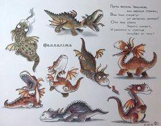 Cutest little dragons!