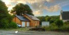 Maison bois : chantier presque terminé !
