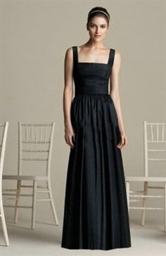 A-line Sleeveless Black Floor-length #Prom #Dress Style Code: 01600 $104