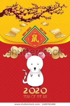 6Xcute Chinese new year red packet red envelope 2019 year of the pig lucky In ty