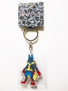 Pokemon Center Limited Clear Keychain Mega Lucario	루카리오 (Japan imports) #PokemonCenter