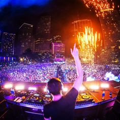 Go to the Ultra Music Festival someday!