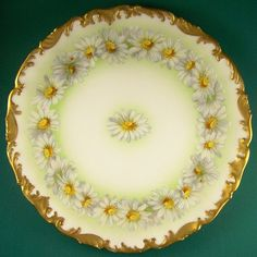 limoges china | Limoges, DaisyChain Display Plate | LIMOGES CHINA