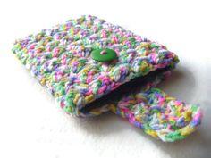 Crochet Kindle Nook EReader Sleeve Cover by HavenQuiltsNCrochet