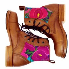 Bold Flowers Boot..