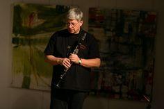 Martin Speicher (Saxophone, Klarinetten) - Fotojournalist Kassel http://blog.ks-fotografie.net/konzertfotografie/drummer-lou-grassi-live-konzertfotografie/