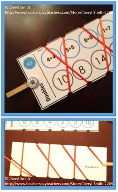 Self correcting math skill reinforcement cards, 12 skills in all, 150+ cards. $