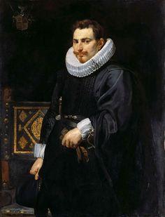 Peter Paul Rubens - Portrait of Jan Vermulena. 1616
