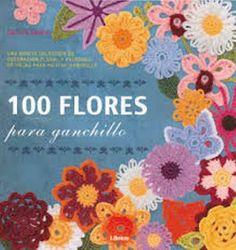Una bonita colección de decoración floral y patrones de hojas para ganchillo
