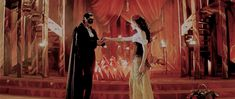 The Phantom and Christine + height difference : Phantom Of The Opera, Painting, Painting Art, Paintings, Painted Canvas, Drawings
