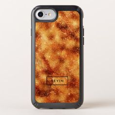 Rich Gold Tones Faux Glitter & Sparkles Speck iPhone Case - modern gifts cyo gift ideas personalize
