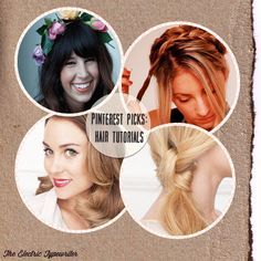 Awesome hair tutorials for long hair compiled by The Electric Typewriter