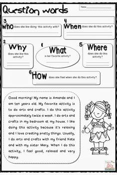 Funny Miss Valérie: Question Words | Pediatric Speech Pathologist ...