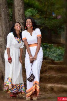 Traditional Ethiopian Dresses – Page 2 – Kemis Designs African Men Fashion, African Dresses For Women, African Wear, African Women, African Style, Ethiopian Traditional Dress, Traditional Dresses, Habesha Kemis, Eritrean