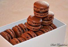 SÜTIK BIRODALMA: Csokikrémes macaron