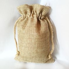 Burlap Sack Gunny Thicker Vintage Retro Earring Necklace Ring Bracelet Jewelry Bags Candy Gift Bag Pouches Cell Phone Pocket