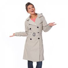 Exclusive trench coat Cleveland clay - Trench Coats & Coats - Shop | HappyRainyDays