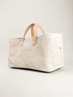 Golden Goose Deluxe Brand 'coast' Perforated Tote - Leam - Farfetch.com