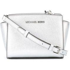 Michael Michael Kors Mini Selma Crossbody Bag found on Polyvore