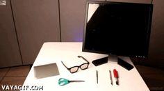 Como crear lentes especiales para PC
