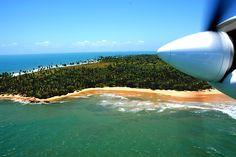 Chegada ao Kiaroa Resort, Península de Maraú, Bahia